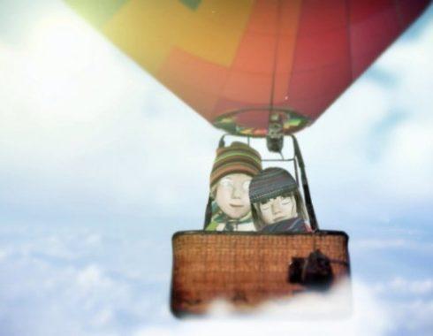 hot balloon animation