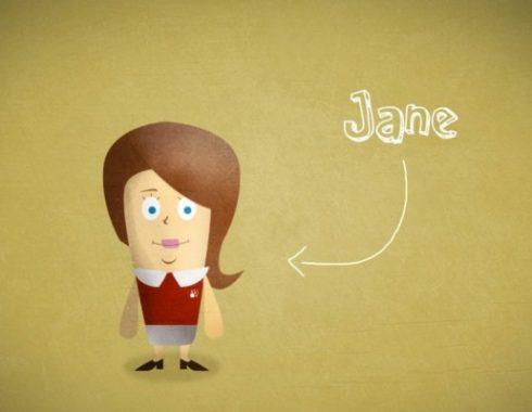 jane character design