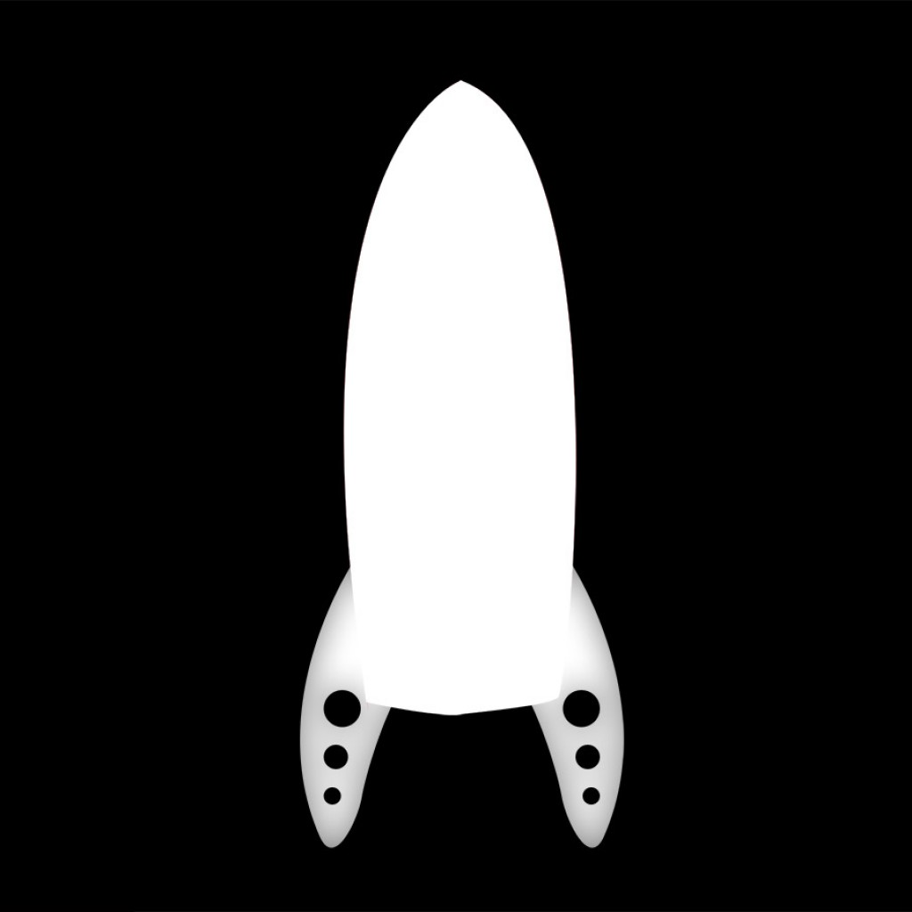 rocket shape