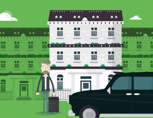 London Taxi animation