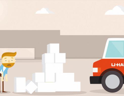 moving with uhaul animation
