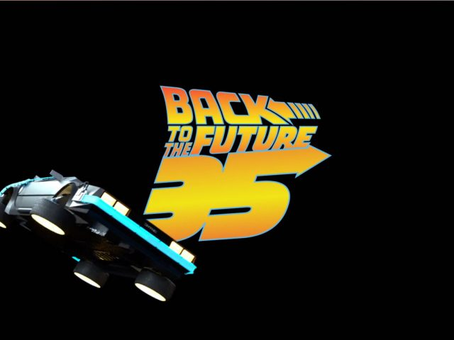 Animated back to the future project